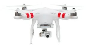 Phantom 2 drone flying