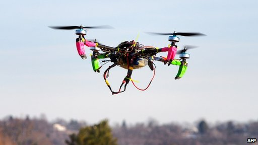 Drone used for search and rescue picture