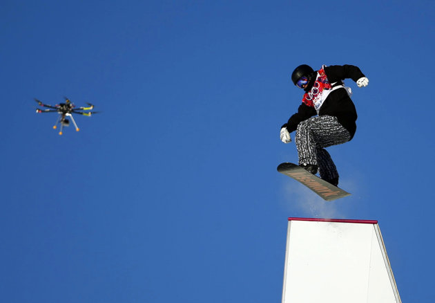 Drone filming at sochi
