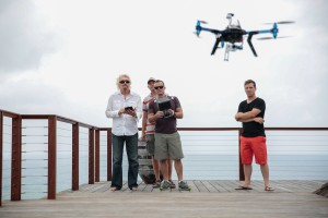 Men and drone in the air_1500px