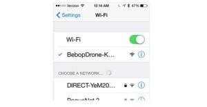 drone wifi network