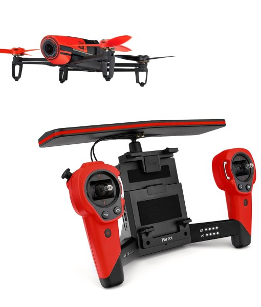 bebop drone red skycontroller picture