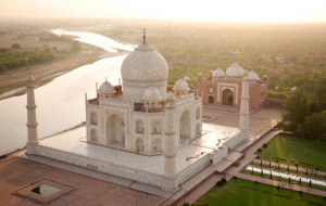 India travel by drone