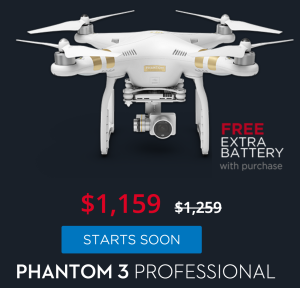 DJI Phantom 3 Professional deal image