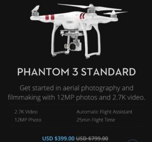 DJI Phantom 3 standard for sale picture