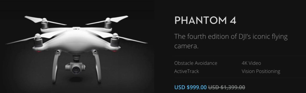 DJI Phantom 4 black friday drone deals photo