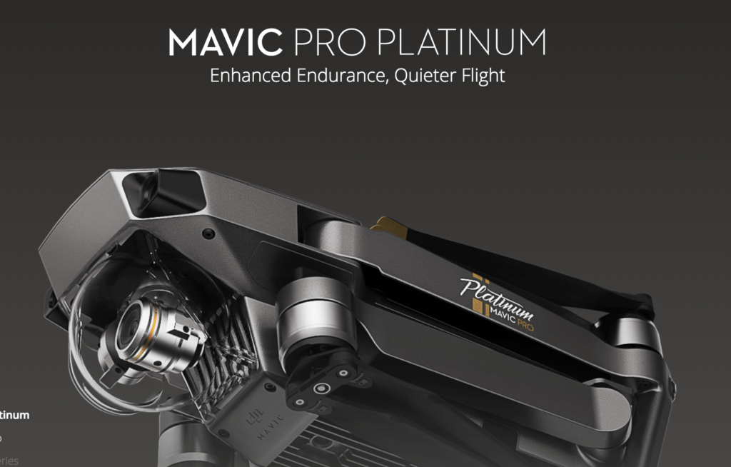 dji mavic pro platinum black friday deal photo